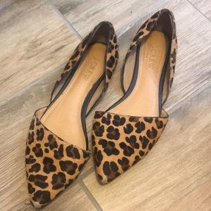 JCREW LEOPARD SHOES